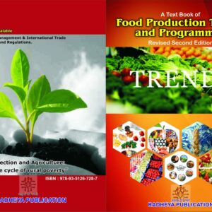 Food production trends and programmes by Dr. R. H. Jaju
