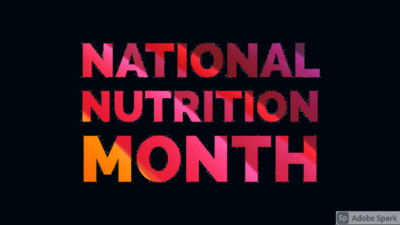 National Nutritional Month